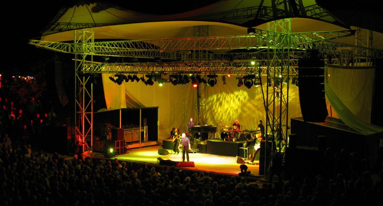 Progettazione e creazione palchi per concerti ed eventi