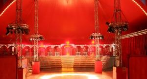 Gradinate e complementi per circo e spettacoli