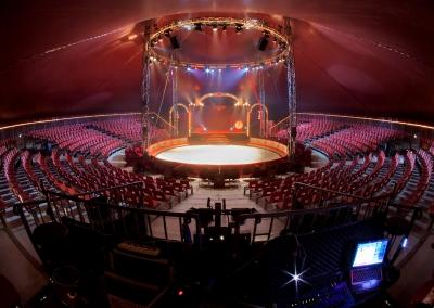 Strutture per il circo, tradizione e innovazione