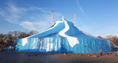 circo in Danimarca: struttura e gradinate