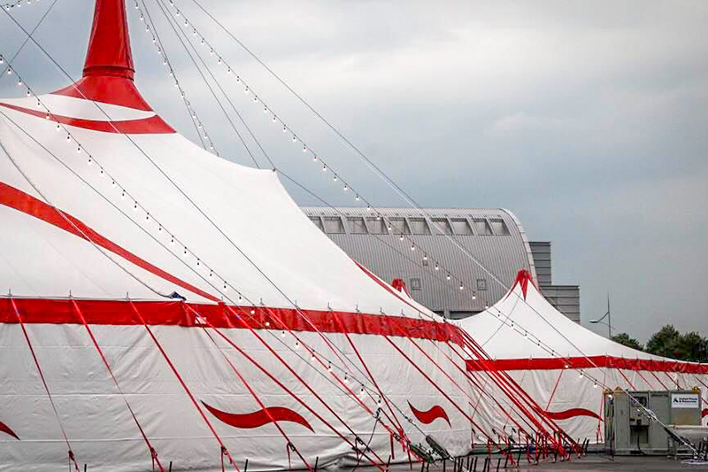 Another circus made by Anceschi opened in Singapore