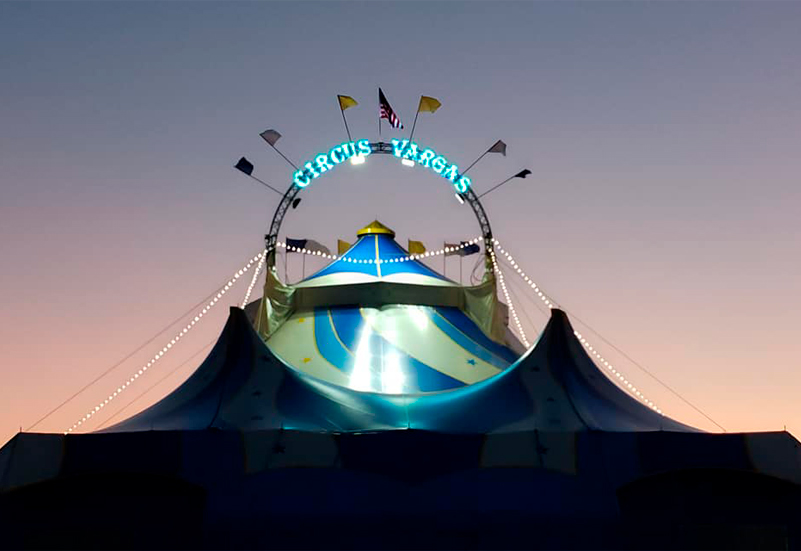 For the 50th anniversary of the Vargas Circus' birth, a brand new look and the American dream